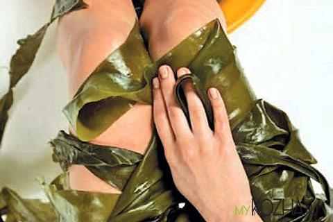 обертывание водорослями