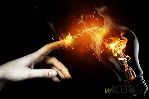 электрический ожог