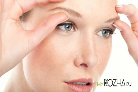 морщины в области глаз
