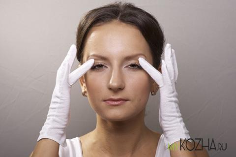 упражнения против морщин вокруг глаз