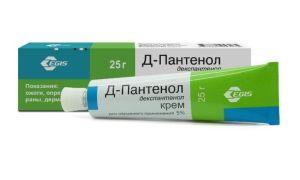 Д-Пантенол для лечения ожогов ран порезов язв
