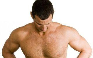Причины появления и методы лечения прыщей у мужчин на груди