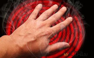 Первая помощь при ожоге руки