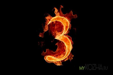 ожог 3 степени