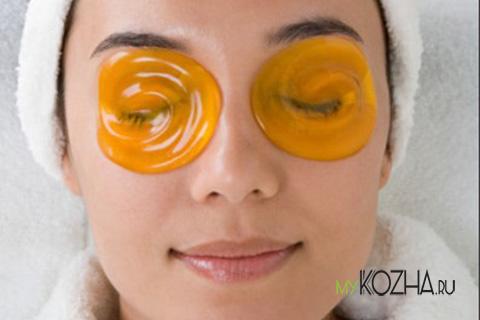 маска вокруг глаз