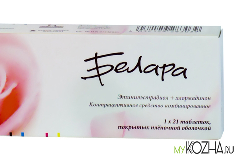Препарат Белара против прыщей